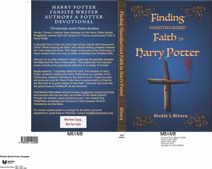 Faith in Harry Potter book cover